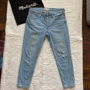 Madewelll Skinny Crop Jeans